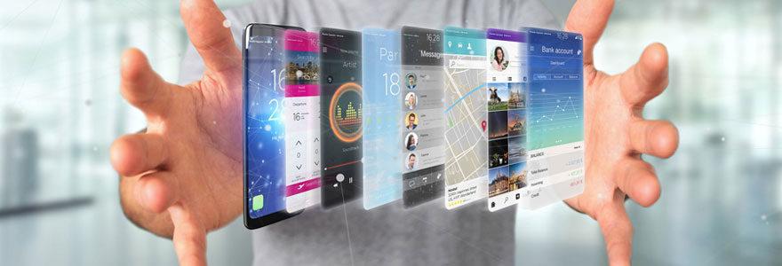 Créer une application mobile avec un professionnel